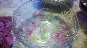 Torte - empty bowl