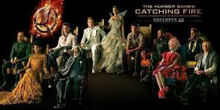 Catching Fire Hunger games poster 4