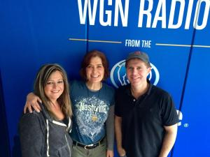 Katie Slivovsky with Wendy Snyder and Bill Leff