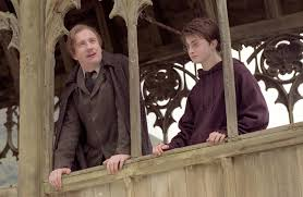 Harry Potter and Prof Lupin