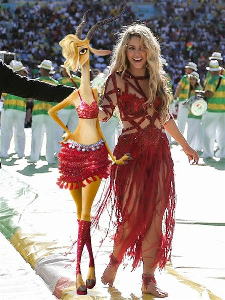 Shakira Gazelle