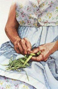 Meme grandma beans