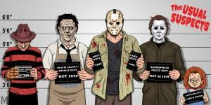 slasher movie villians