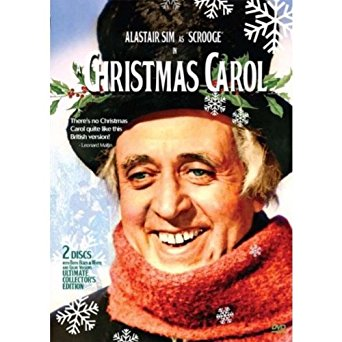 Christmas carol, alastair sims