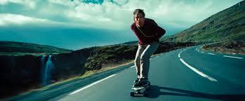 Secret life of Walter Mitty skateboard
