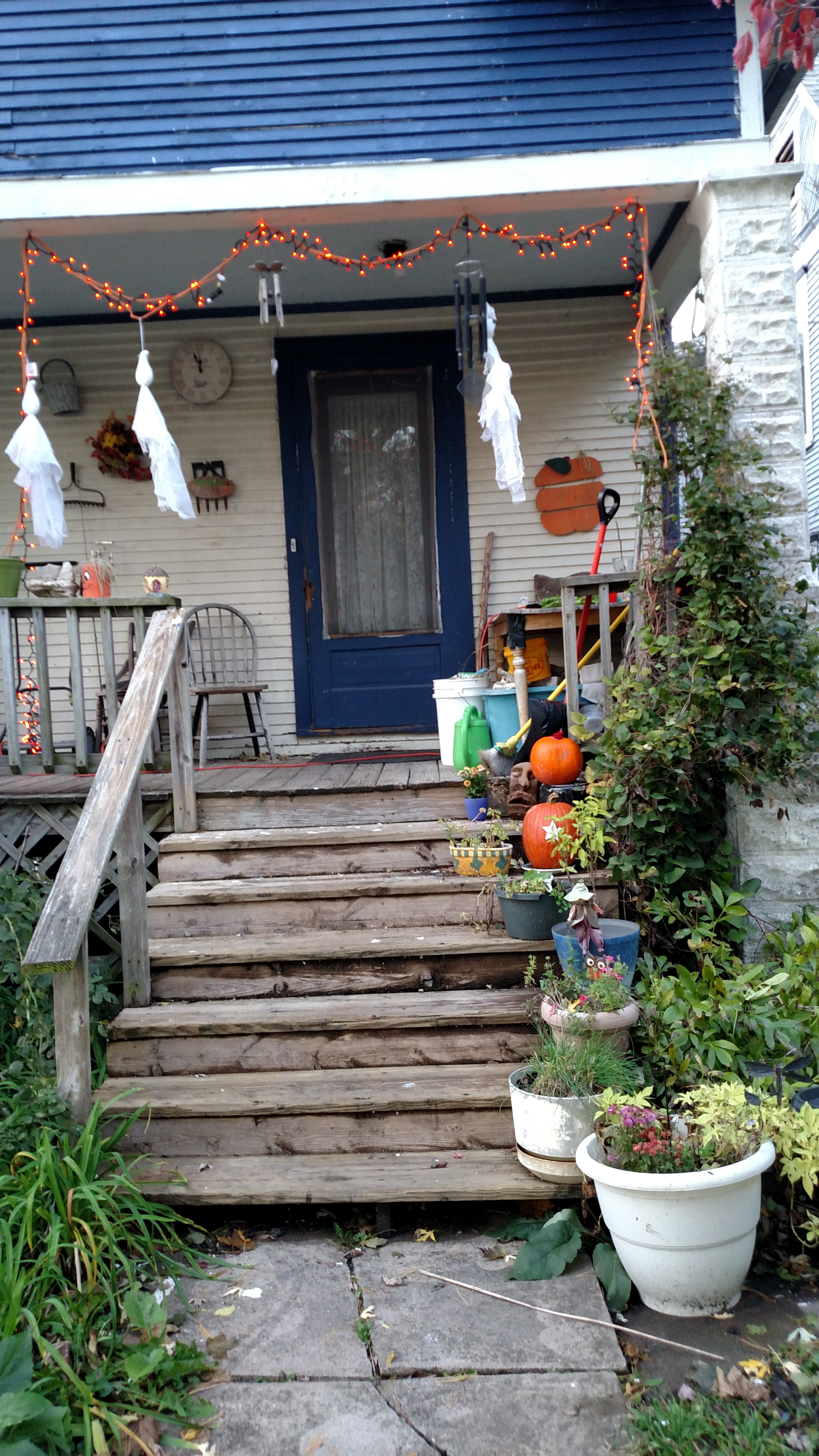 Front Porch Halloween 2019